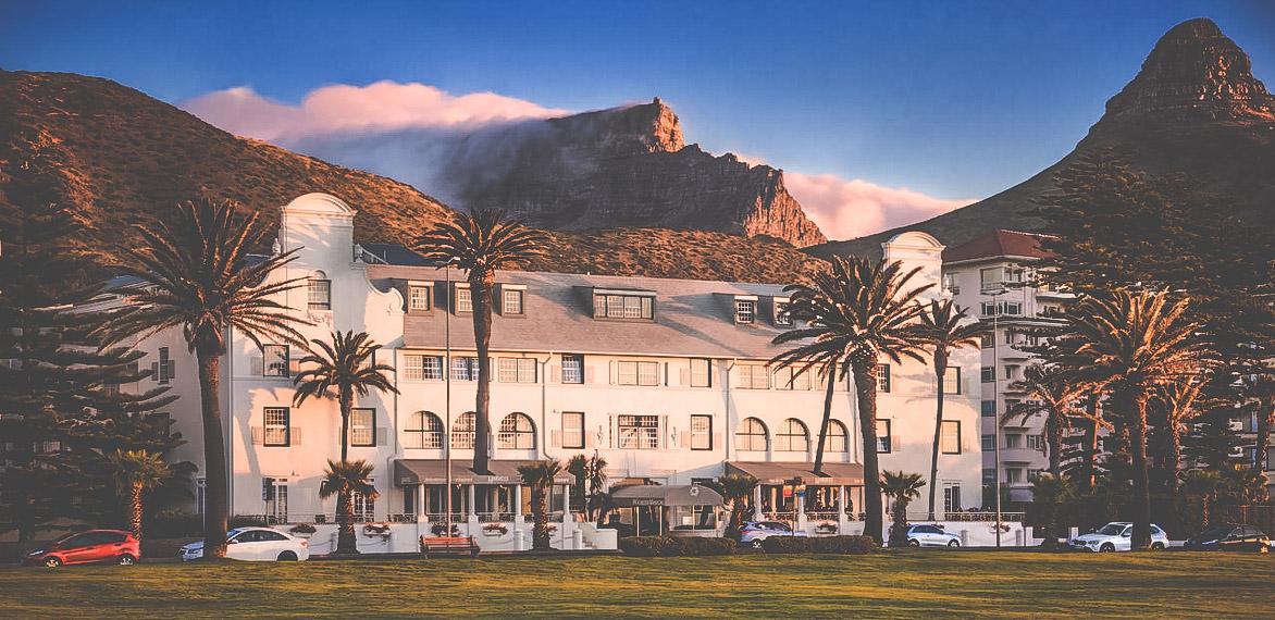 Charmigt hotell i kapstaden