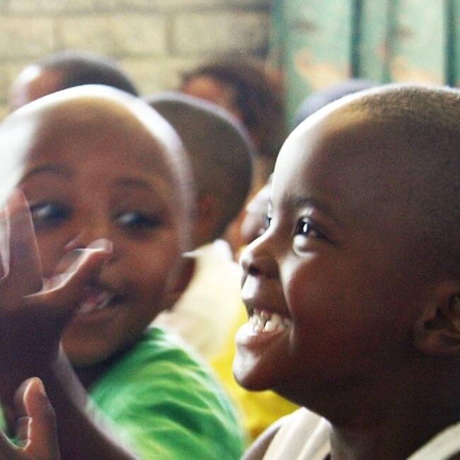Barnen på Project Playground, Kapstaden