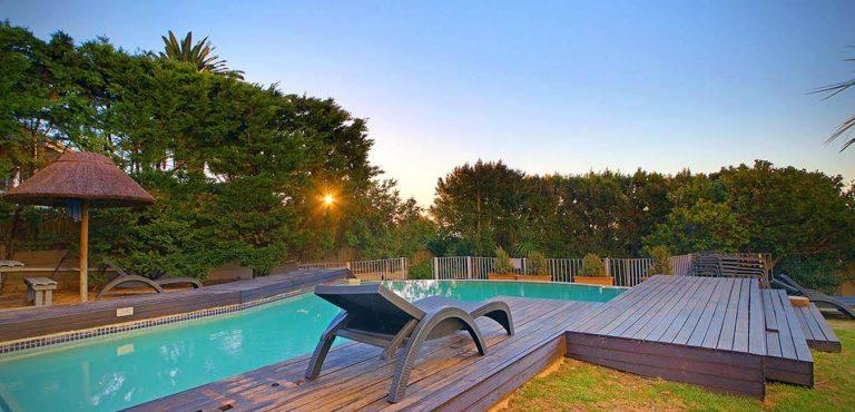 Pool, Oceana lägenheter i Camps Bay, Kapstaden