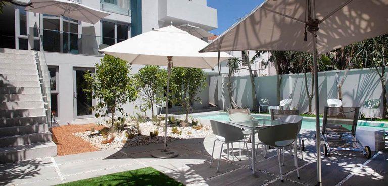 Poolområde, Villa Zest Boutique Hotel, Kapstaden