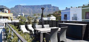 Utsikt från villa i De Waterkant, Kapstaden