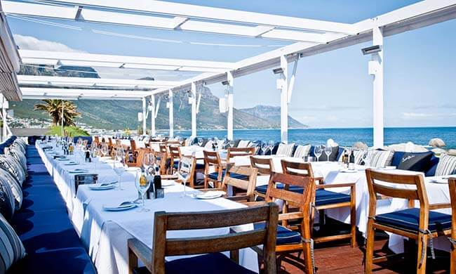 Restaurang i Kapstaden