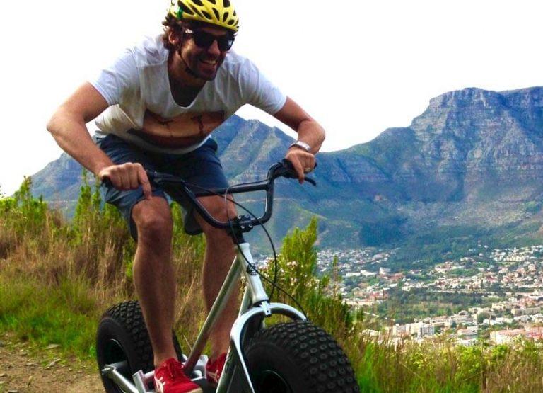 Downhill-äventyr i Kapstaden