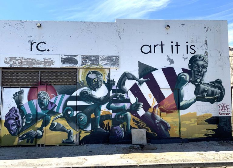 Grafittitur i Kapstaden