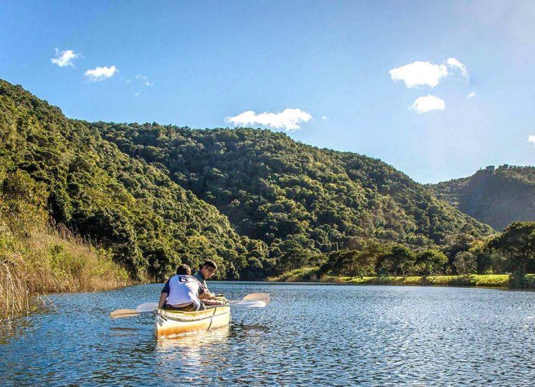 Kanot på Garden Route