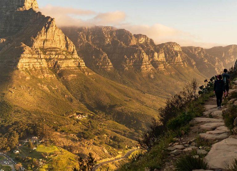 Vandra i Kapstaden med utsikt över de tolv apostlarna